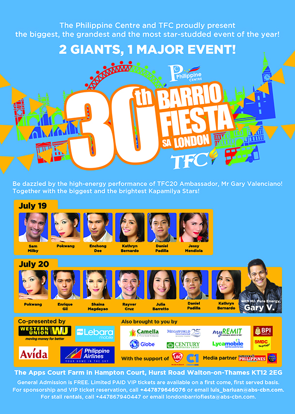 30th Barrio Fiesta sa London 2014