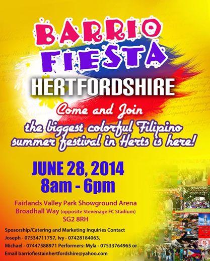 Barrio Fiesta Hertfordshire 2014