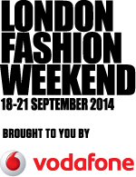 London Fashion Weekend Vodafone