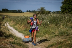 DixonsCarphone Race to The Stones 2015 Day 1 50km - Tyre Lady