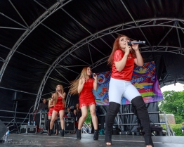 4th Impact - on stage